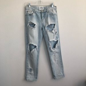 One teaspoon Distress awesome baggies jeans 26